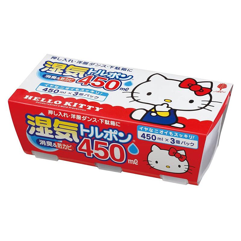 日本小久保kokubo衣櫃除濕劑450ml 3入裝(kt)