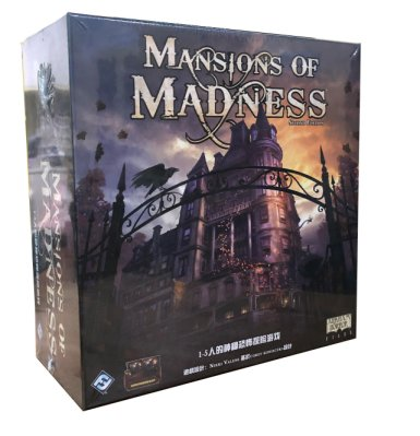 【陽光桌遊】(免運) 瘋狂詭宅 二版 Mansion of Madness 2nd Edition 繁體中文版 正版