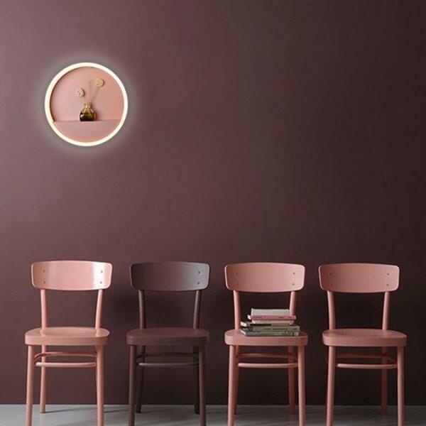 18park-粉玩味壁燈 [20cm,粉紅色]