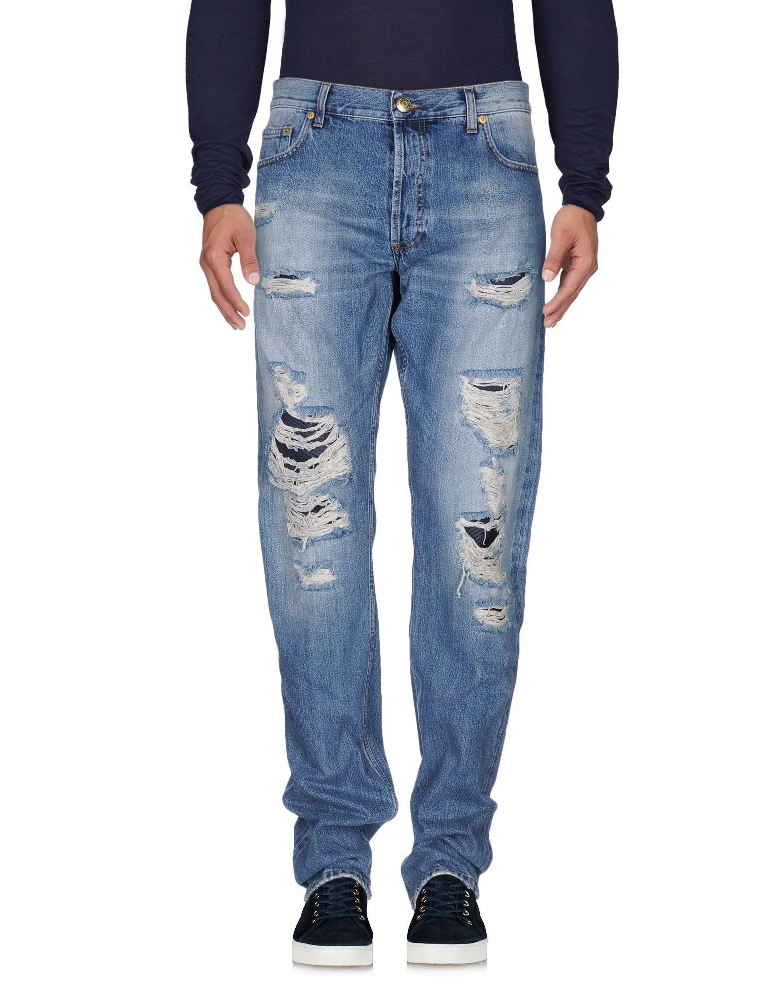 ALEXANDER MCQUEEN Denim pants - Item 42514521