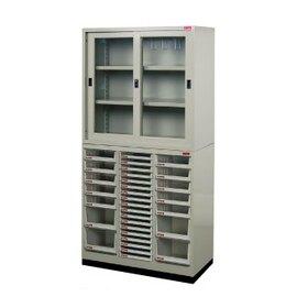 『樹德』OA櫃-A4X與三尺文件櫃搭配-U-88G (上櫃)