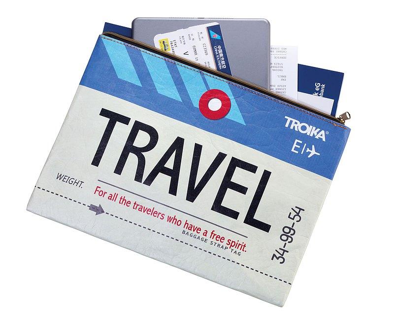 A4 防水文件_旅行證件 收納袋