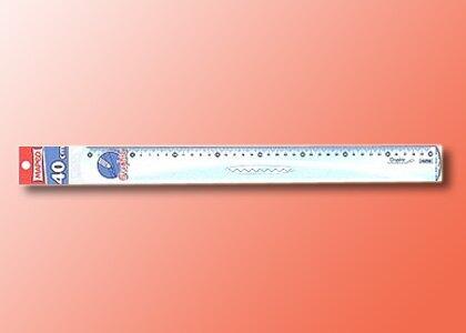 【萬事捷】2161 MEPED 高級直尺 ( 40 cm )\t(20支/盒)