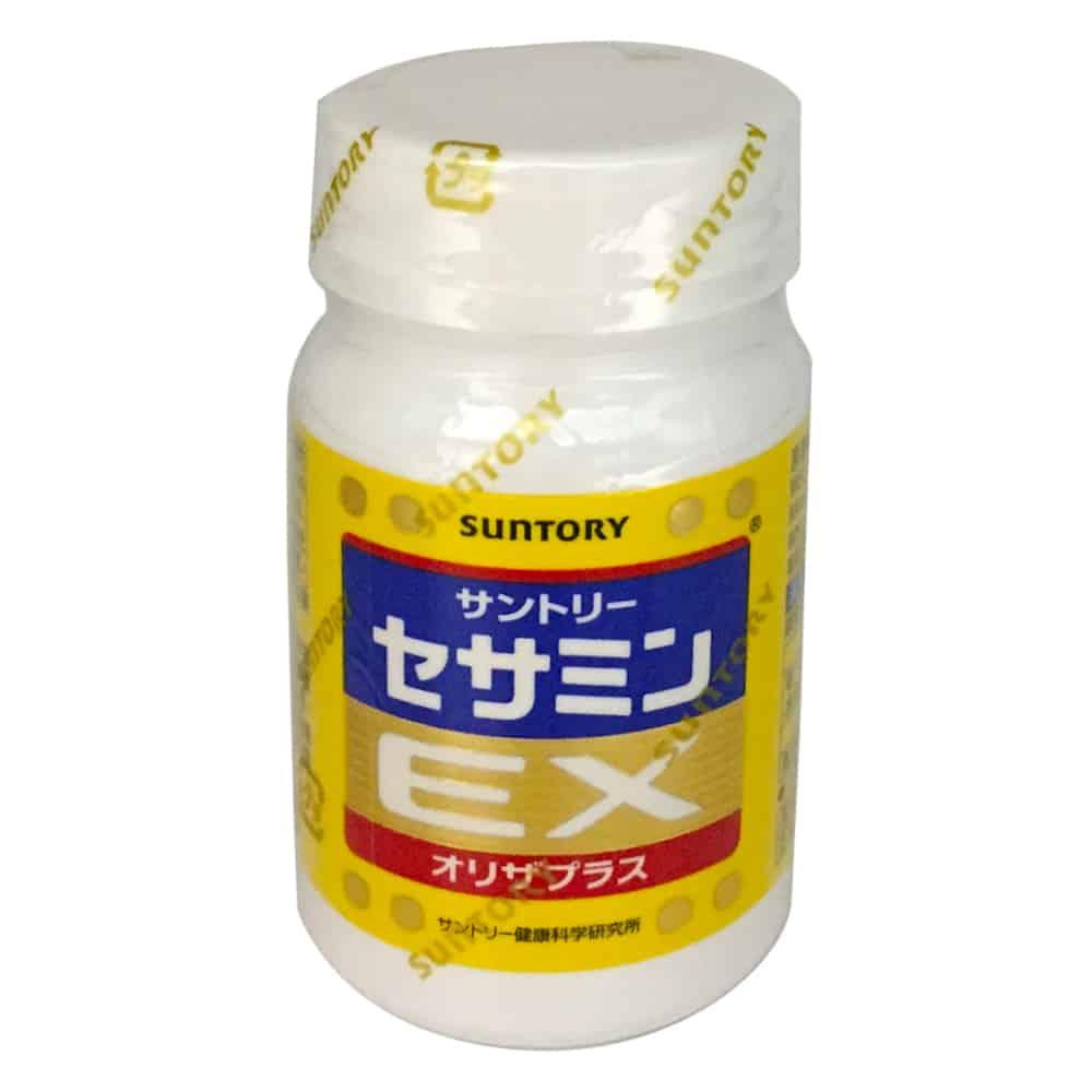 三得利 SUNTORY 芝麻明EX 90錠/瓶◆德瑞健康家◆【母親節送禮推薦】