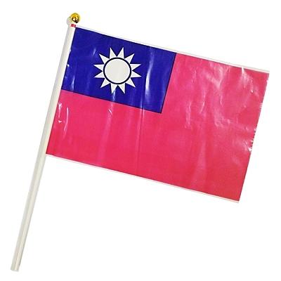 【文具通團購優惠價】2號小國旗旗面塑膠材質 金頭 x 500支