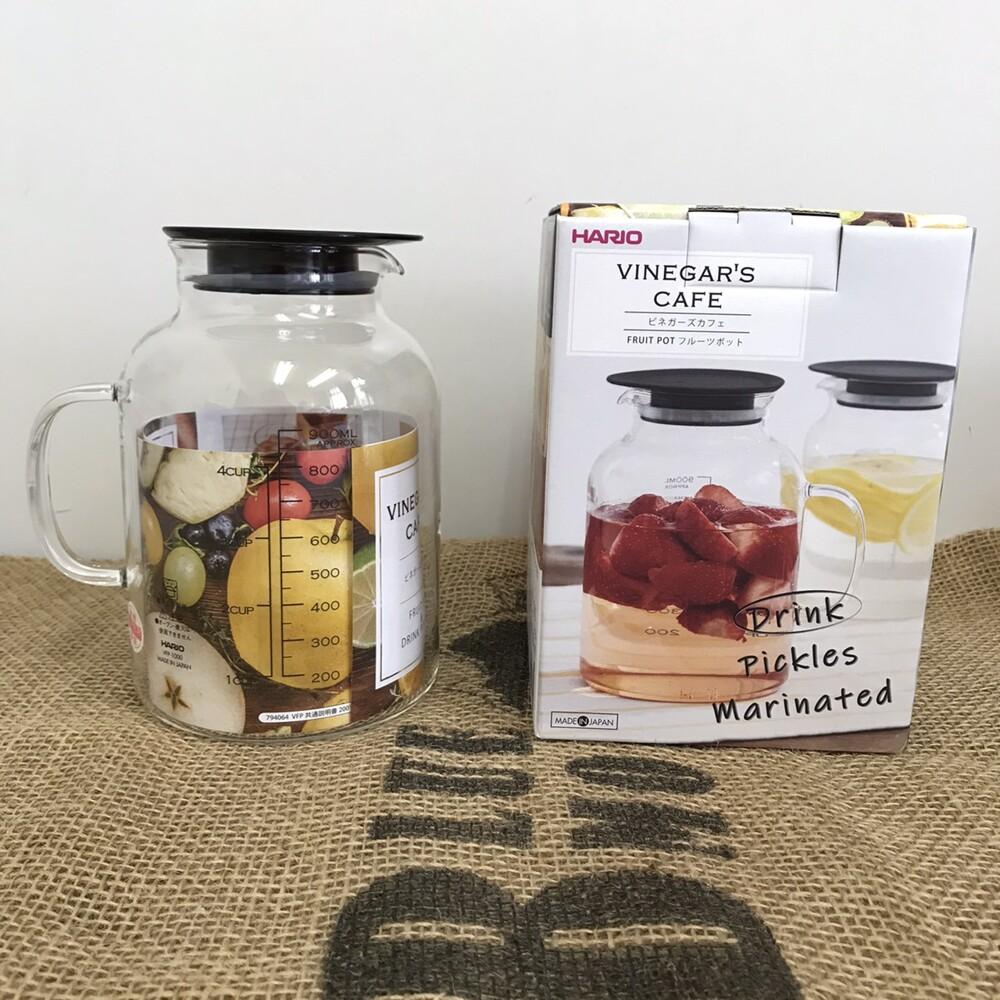 日本hario 水果茶壼 水果醋壺 醃漬罐 1000ml