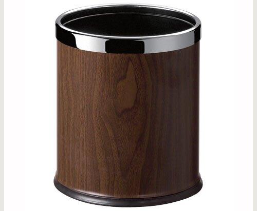 C45S-15 黑桃木紋 圓型雙層桶 / 個
