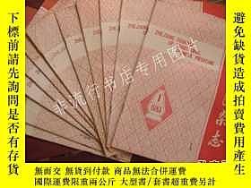 二手書博民逛書店期刊雜誌:【月刊】浙江中醫雜誌1983年全年缺第8期,共11期合