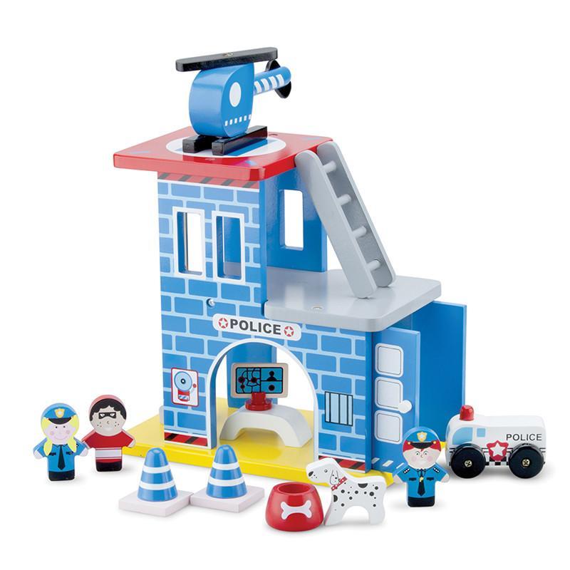 波麗士英雄小隊木製玩具 - 11031