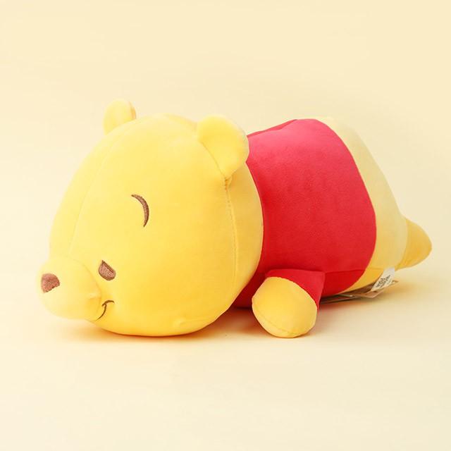 小熊維尼懶洋洋趴姿娃娃 12吋- Norns 迪士尼正版 絨毛玩偶