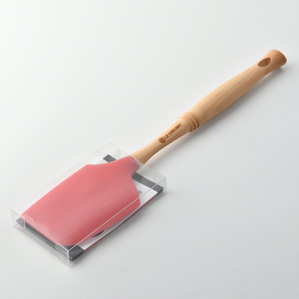 【法國LE CREUSET】 經典大型鍋鏟 刮勺 刮刀 紅色
