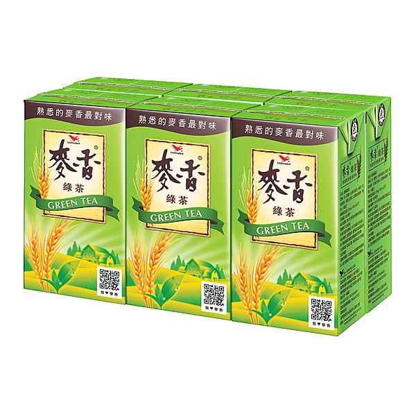統一麥香綠茶300ml(6入)/組