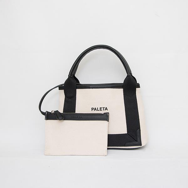PALETA系列 - 帆布小袋(象牙白)