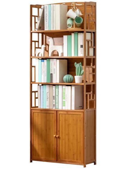 櫃子 木馬人書架簡易置物落地小書櫃子簡約實木客廳兒童桌面上學生收納 【全館八五折】