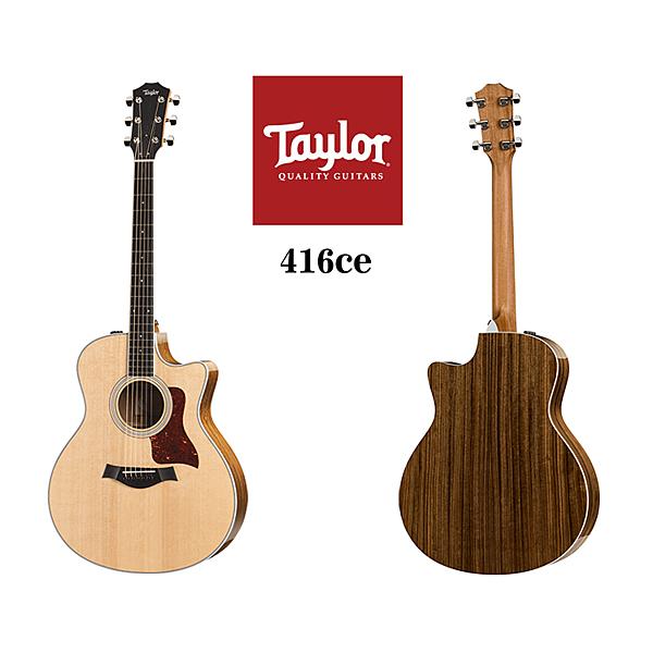 小叮噹的店 - Taylor 416ce 雲杉木 面單 電木吉他 泰勒吉他 4系 附原廠硬盒