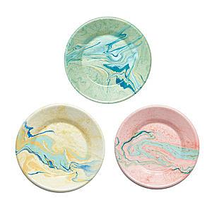 BORNN琺瑯 MARBLE圓盤21cm-共3色檸檬黃