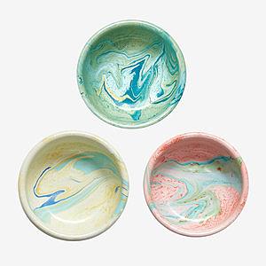 BORNN琺瑯 MARBLE碗12cm-共3色薄荷綠