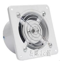 220v 浴室排風扇衛生間4寸排氣扇窗式換氣扇強力抽風機靜音抽風機TT3409