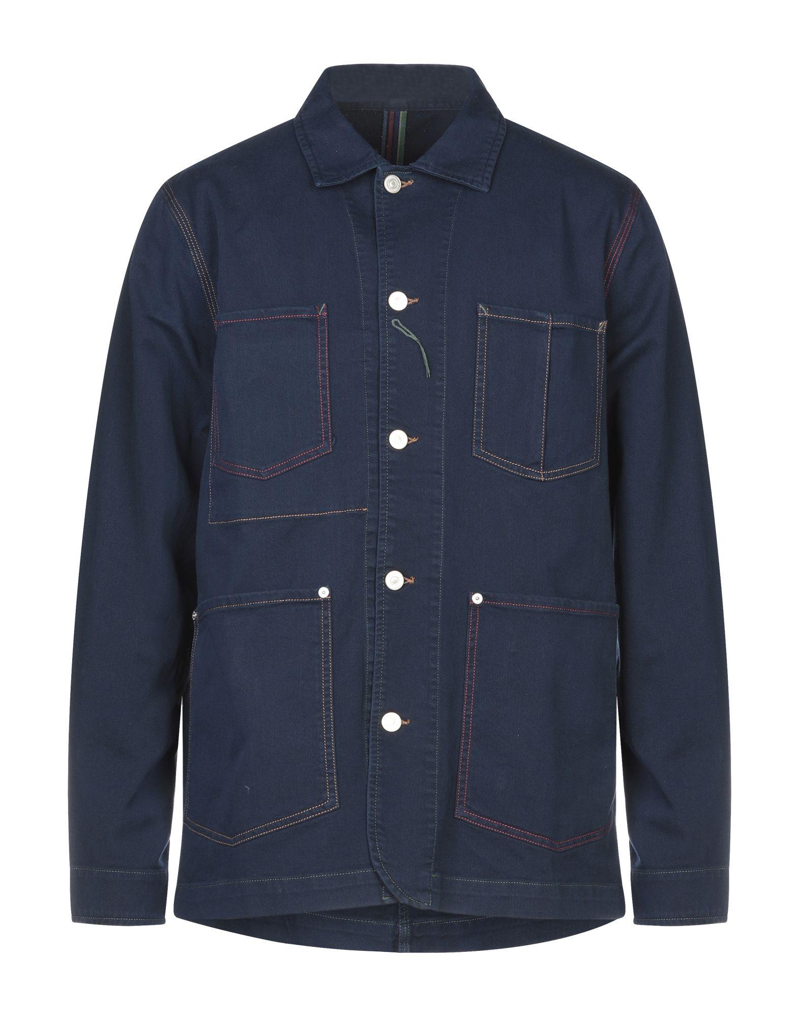 PS PAUL SMITH Denim outerwear - Item 42796260