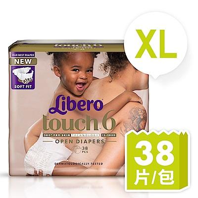 麗貝樂 Touch嬰兒紙尿褲6號(XL-38片)