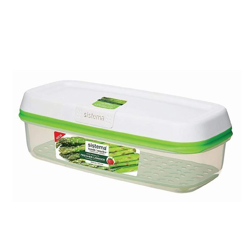 紐西蘭進口Fresh Works蔬果保鮮盒1.9L-53115