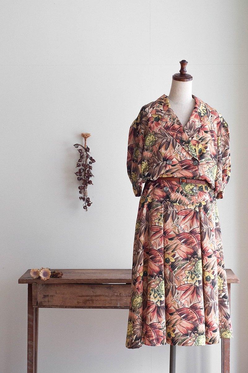 Vintage / 短袖洋裝 no.250