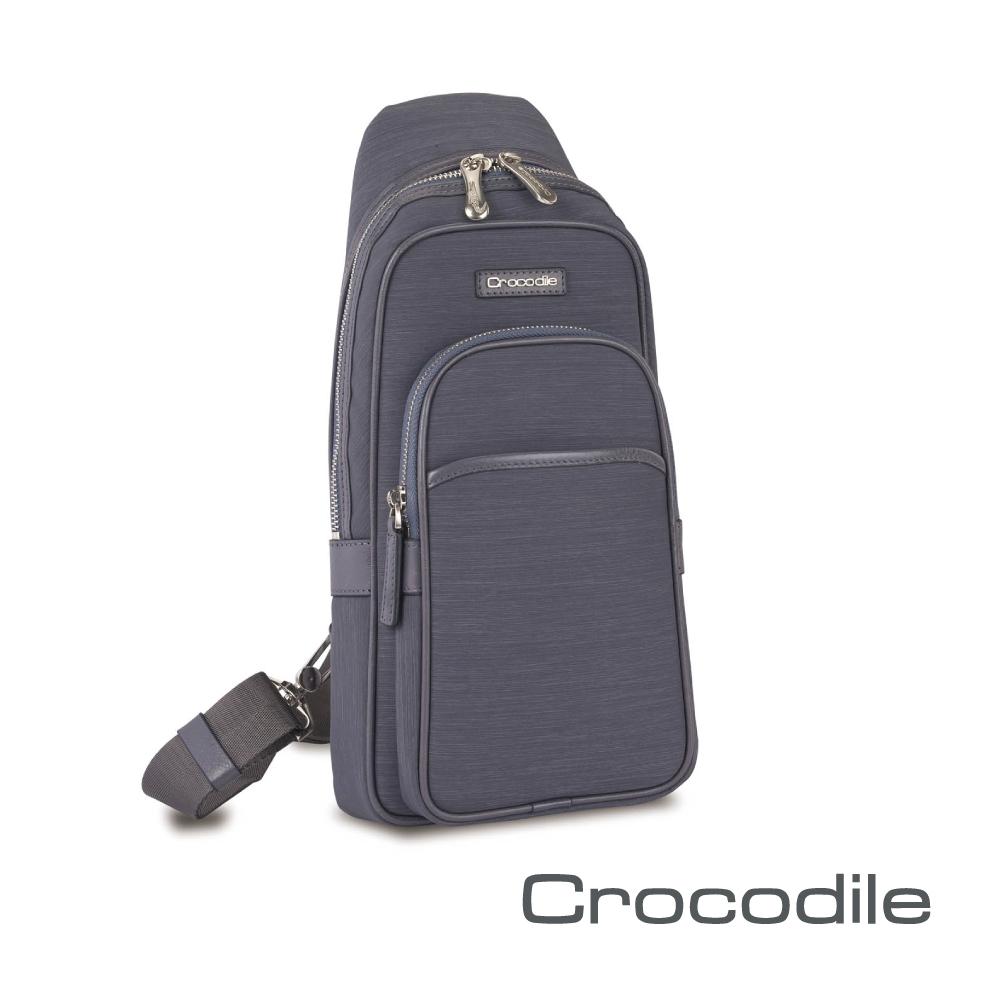 【Crocodile】Marvel布配皮系列單肩包 0104-07602