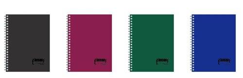 AD6023 25K 左翻空白 PP活頁筆記B5-4入 (顏色隨機出貨) / 包