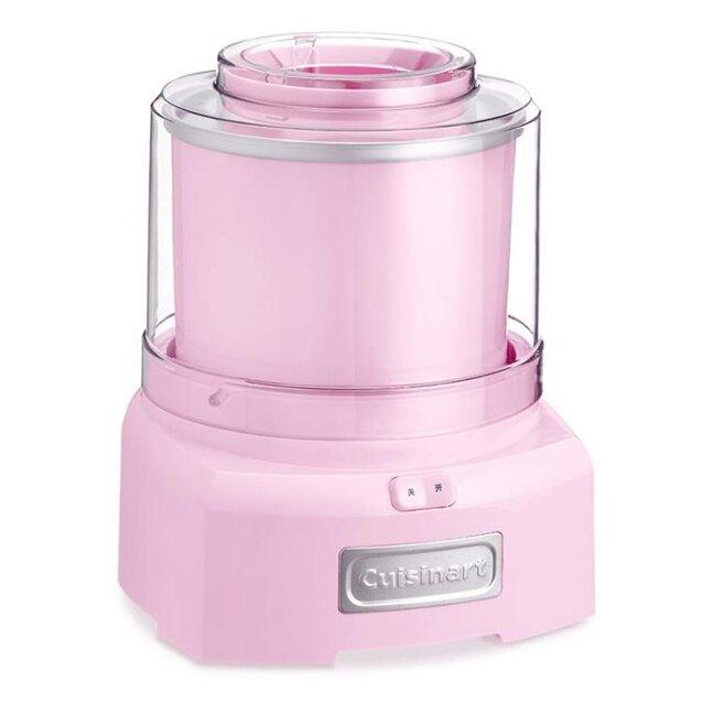 冰淇淋機 Cuisinart/美膳雅冰淇淋機家用小型自動制作水果酸奶兒童冰激凌機 女生節樂購