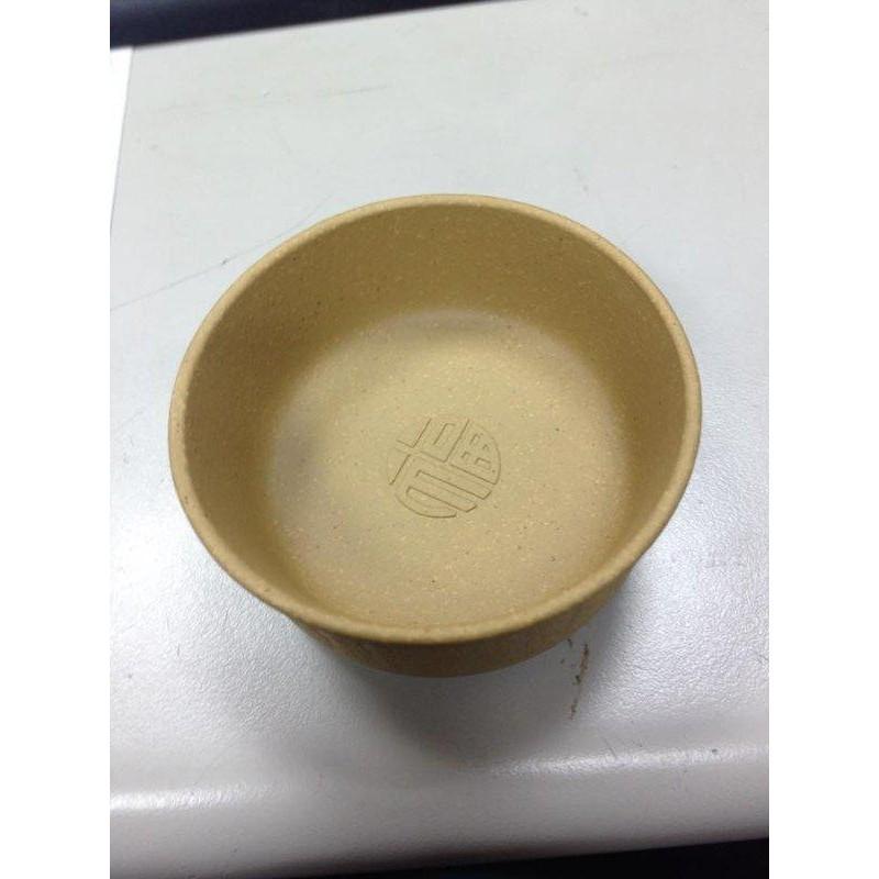 正品黃紫砂杯功夫杯 全手工創意 小茶杯子品茗杯