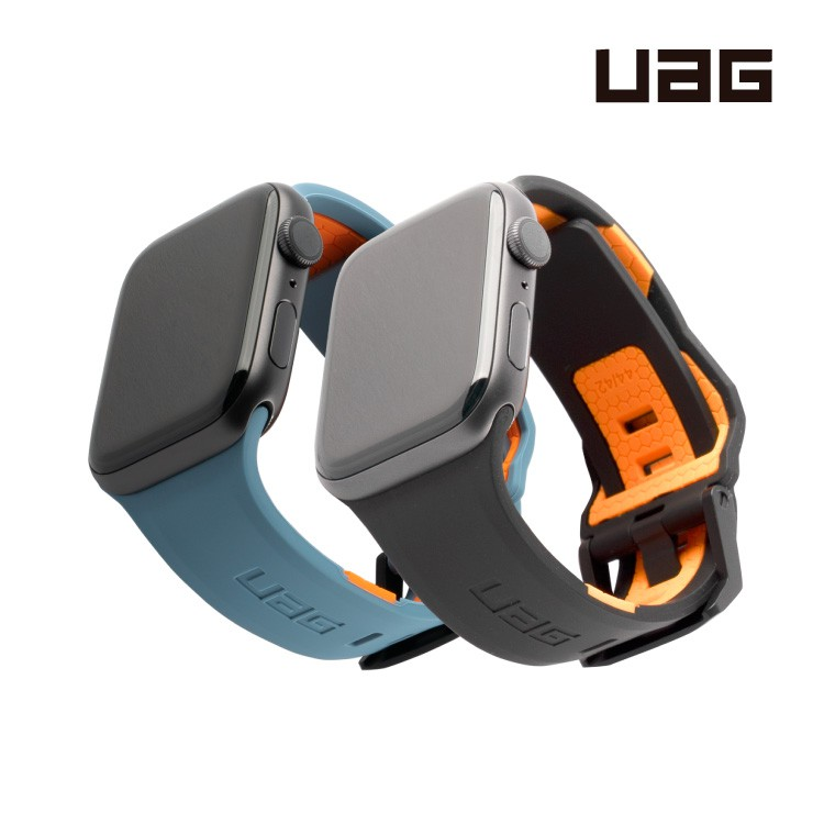 UAG Apple Watch Series 6 5 4 3 2 1 簡約矽膠錶帶 運動錶帶 矽膠錶帶 休閒錶帶 錶帶