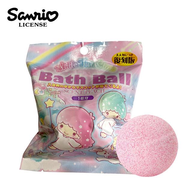 雙子星 復刻版 吊飾 沐浴球 水蜜桃香氛 泡澡劑 入浴球 泡澡球 kikilala221651