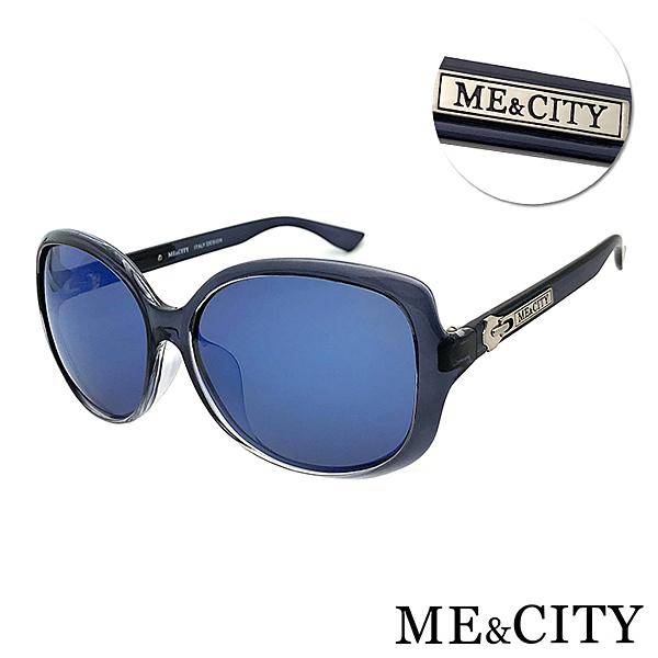 ME&CITY 放浪潮流時尚偏光鏡面太陽眼鏡 抗UV400 (ME 120010 C101)
