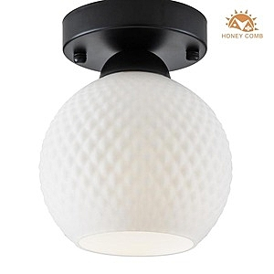 HONEY COMB 現代玻璃吸頂單燈 BL-22201