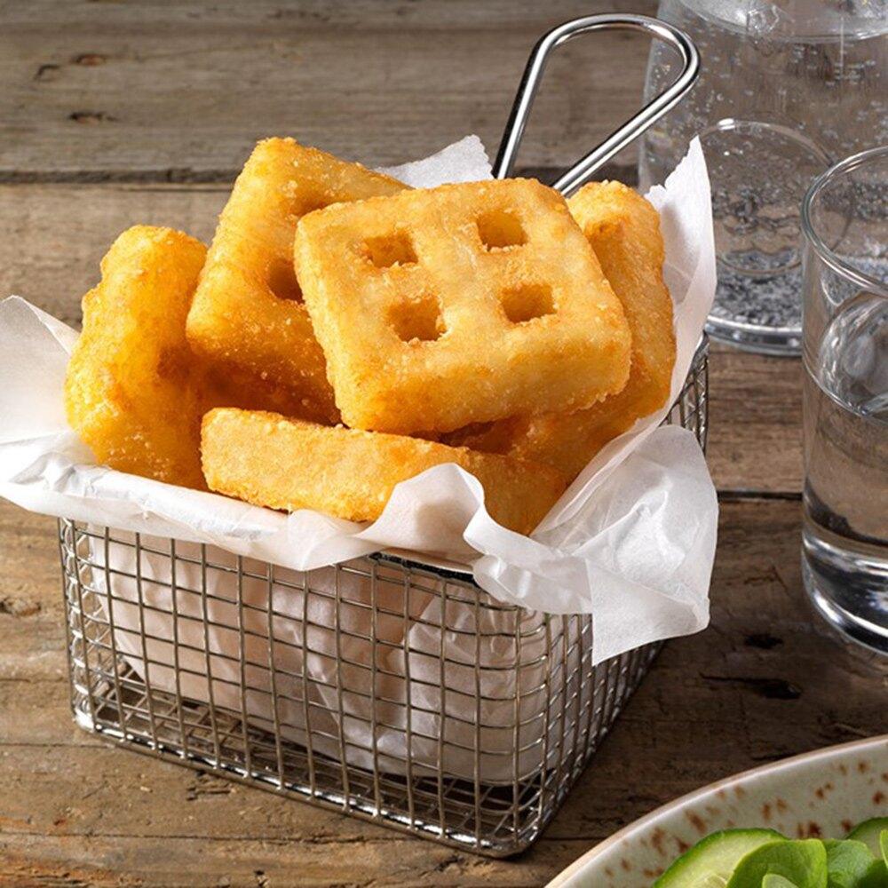 進口歐洲福瑞特洞洞薯餅(1kg/袋) 品質保證(蛋素+五辛素)