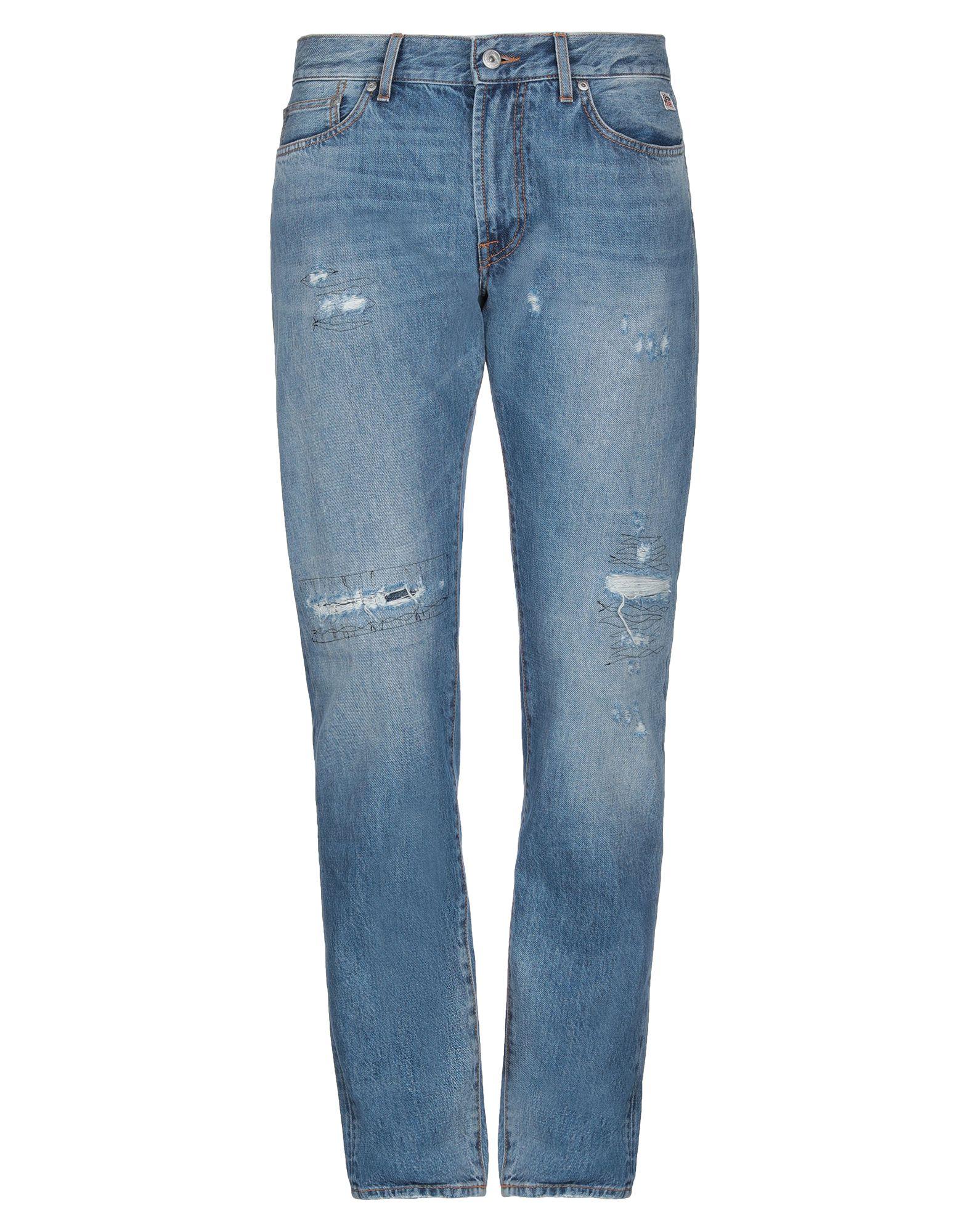 ROŸ ROGER'S Denim pants - Item 42801216