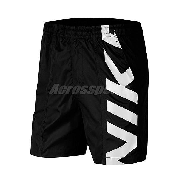 Nike 短褲 SB Skate Shorts 黑 白 男款 滑板系列 運動休閒 【ACS】 CI7348-010