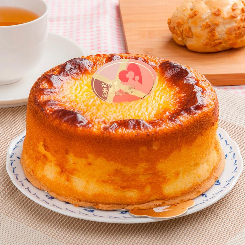 預購-樂活e棧-生日快樂造型蛋糕-岩燒起司蜂蜜蛋糕(6吋/顆)