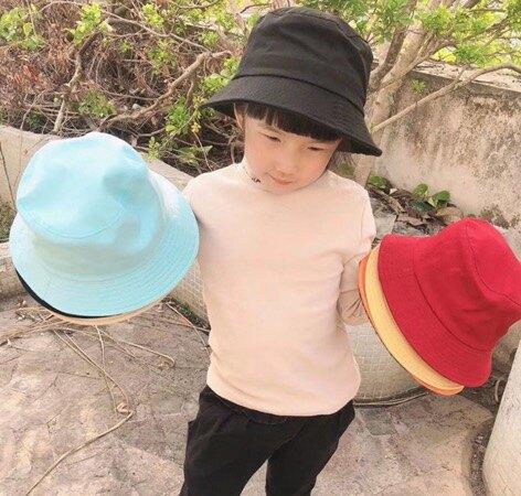 兒童韓式漁夫帽 盆帽  遮陽防曬帽