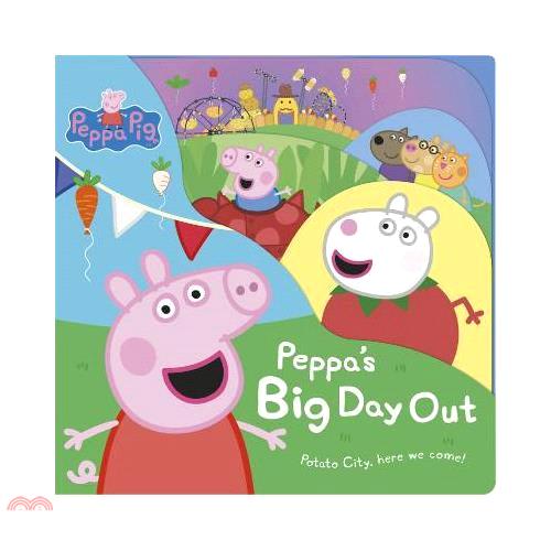 Peppa Pig: Peppa's Big Day Out (硬頁書)【三民網路書店】[5折]