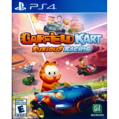 加菲貓卡丁車:瘋狂競速 Garfield Kart: Furious Racing - PS4 英文美版