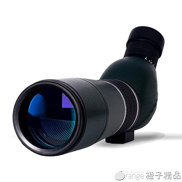 暗鷹單筒望遠鏡高倍高清變倍戶外夜視手機1000倍觀鳥鏡大口徑觀靶 (橙子精品)