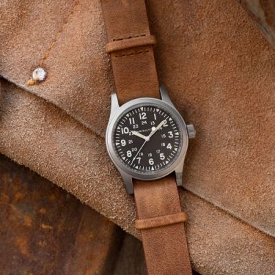 Hamilton 漢米爾頓 卡其野戰 手動上鍊機械錶(H69439531)-38mm
