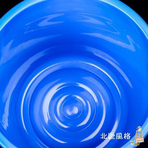 智倫大垃圾桶大號環衛容量廚房戶外無蓋帶蓋圓形特大商用塑料水桶 夏洛特居家名品