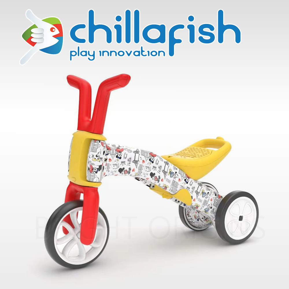 比利時 Chillafish 米奇米妮學步平衡車