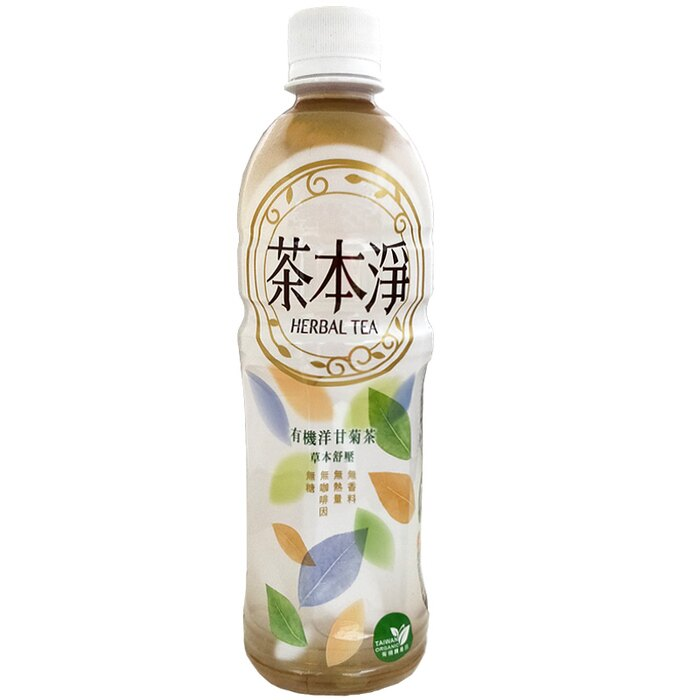 金車茶本淨-有機洋甘菊茶580ml(24入)x2箱【康鄰超市】