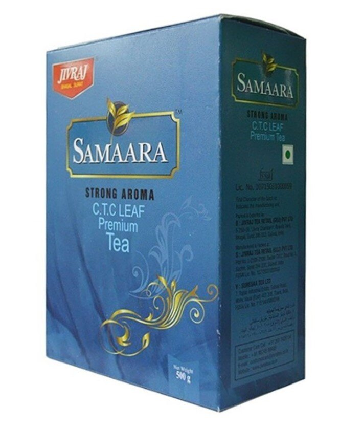 印度優質茶葉  Jivraj Premium Tea Strong Aroma JIVRAJ 500gm