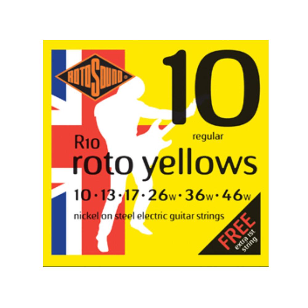 敦煌樂器rotosound r10 10-46 電吉他套弦 二入款