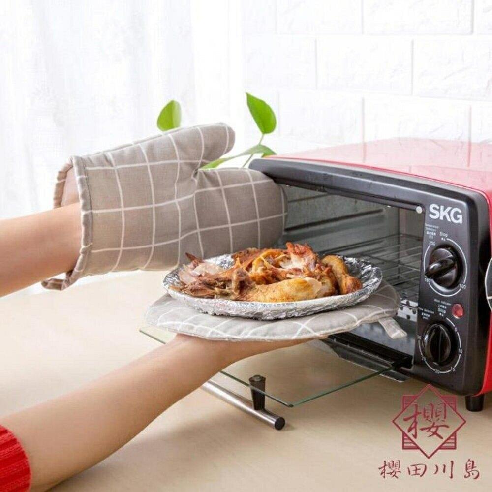 耐高溫防燙手套隔熱手套烤箱烘焙專用烘培【櫻田川島】