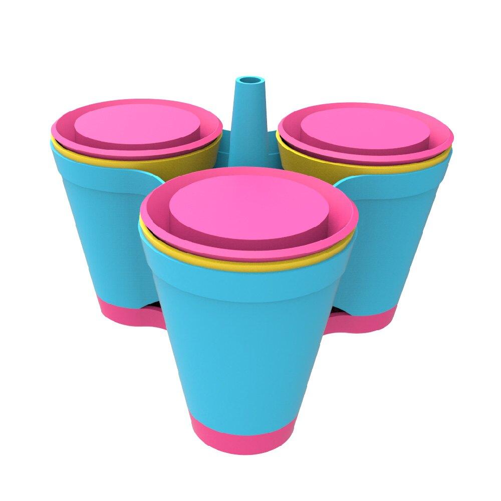 彰化水五金║3X3模組單層盆栽-4色/久統